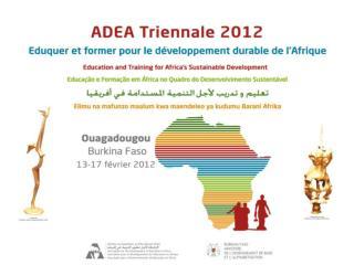Thematic Coordinators :   George Afeti   Ayele Adubra
