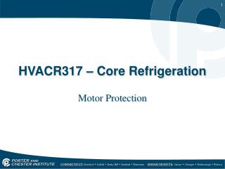 HVACR317  �  Core Refrigeration