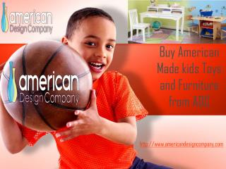 Buy American Made kids Toys and Furniture from ADC