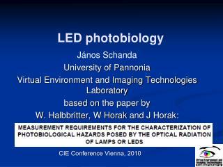 LED  photobiology