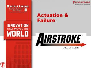 Actuation & Failure