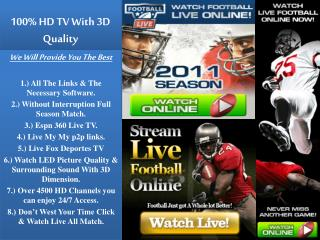 ESPN.TV: Green Bay Packers vs Minnesota Vikings Live Stream