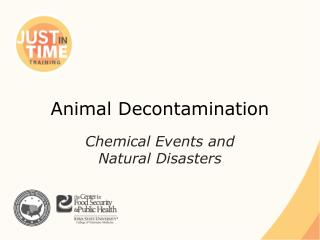 Animal Decontamination