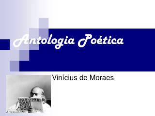 Antologia Po tica
