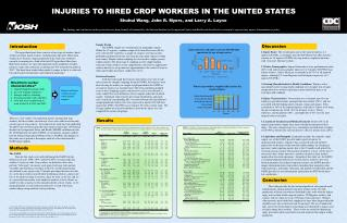INJURIES TO HIRED CROP WORKERS IN THE UNITED STATES