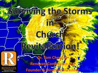 Dr. Tom Cheyney RenovateConference.org Founder  & Directional Leader