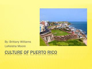 Culture of Puerto Rico