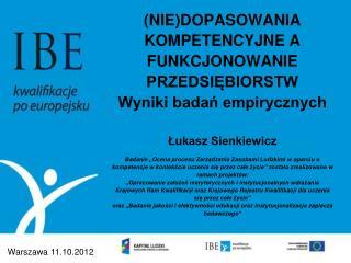 Warszawa  11.10.2012