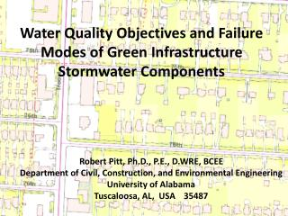 Water  Quality Objectives and Failure Modes  of Green  Infrastructure Stormwater  Components