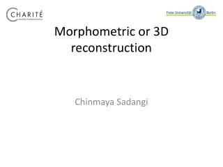 Morphometric or 3D reconstruction