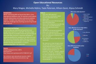 Open Educational Resources By: