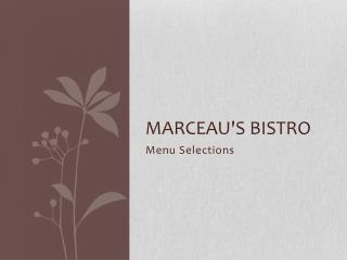 Marceau's Bistro
