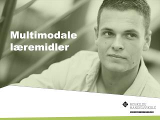 Multimodale læremidler