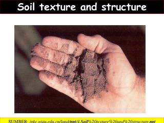 Soil  texture and structure