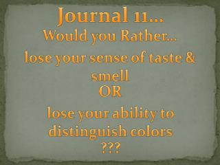 Would you Rather�