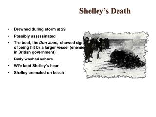 Shelley's Death
