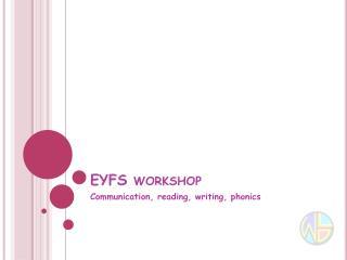 EYFS workshop