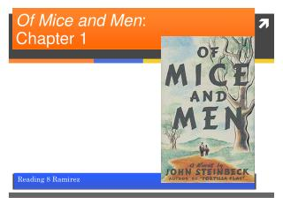 Of Mice and Men :  Chapter 1
