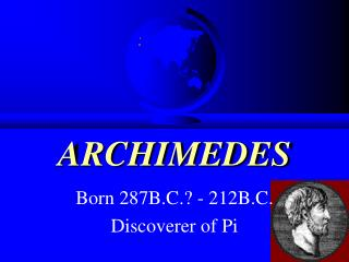 ARCHIMEDES