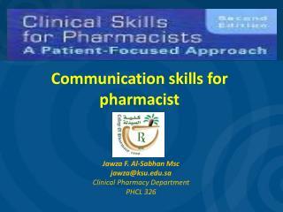 Communication skills for pharmacist