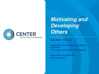 Motivating and Developing Others