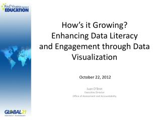 How's it Growing? Enhancing Data Literacy  and Engagement through Data Visualization
