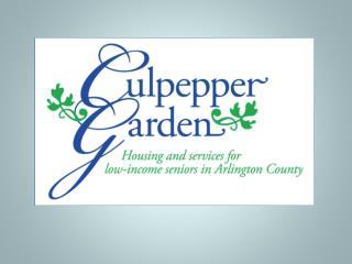 Culpepper Garden – A Community Gem