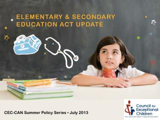 Elementary & secondary education act Update