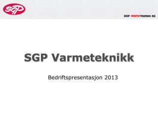 SGP Varmeteknikk