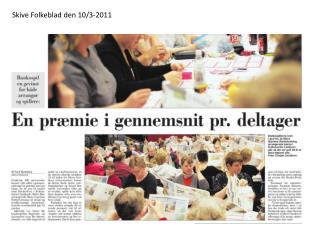 Skive Folkeblad den 10/3-2011