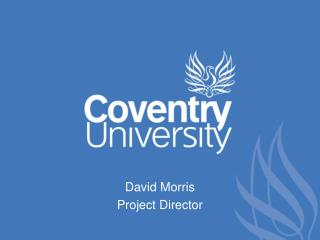 David Morris Project Director
