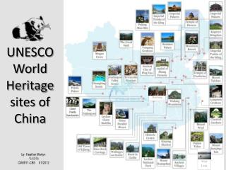 UNESCOWorld  Heritage sites of China