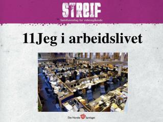 11Jeg  i arbeidslivet