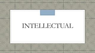 Intellectual