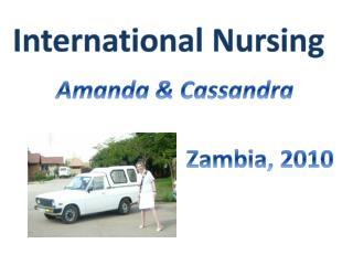 Amanda & Cassandra