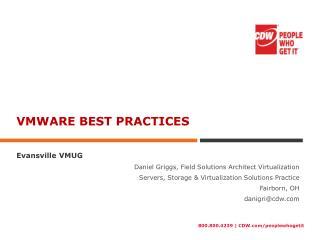 Vmware best practices