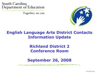 ed.sc English Language Arts District Contacts