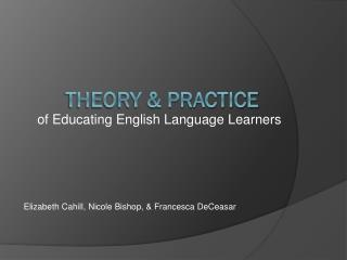 Theory & Practice