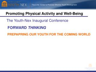 Promoting Physical Activity and Well-Being