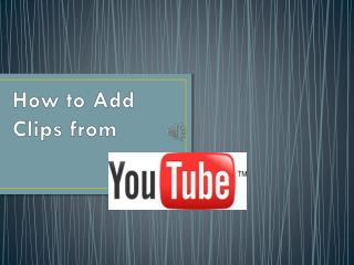 How to Add Clips from