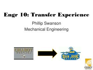 Engr  10: Transfer Experience