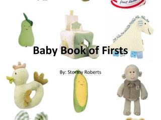 Baby Book of Firsts