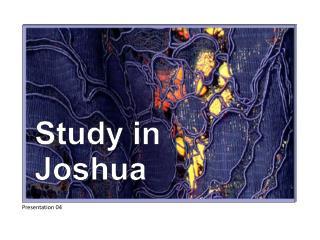 Study in Joshua