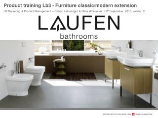 Product  t raining Lb3 - Furniture  classic/modern  extension