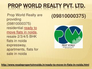 Resale Ready to Move Flats in Noida Expressway, 2,3 BHK Flat