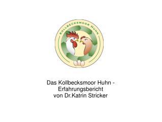 Das Kollbecksmoor Huhn -  Erfahrungsbericht von Dr.Katrin Stricker