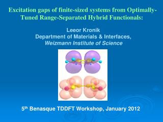 Excitation gaps of finite-sized systems from Optimally-Tuned Range-Separated Hybrid Functionals: