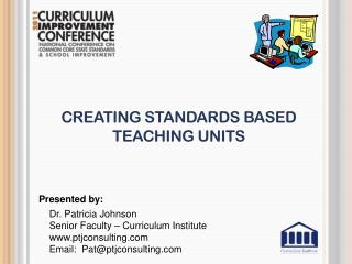 Creating Standards Based Teaching Units