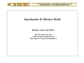 Introduction To Wireless World