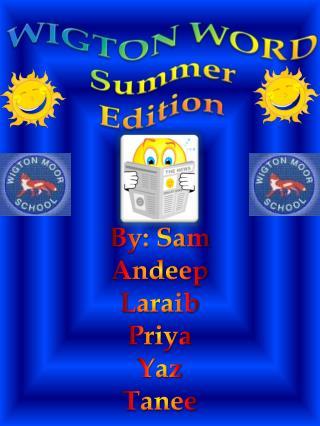 WIGTON WORD Summer Edition